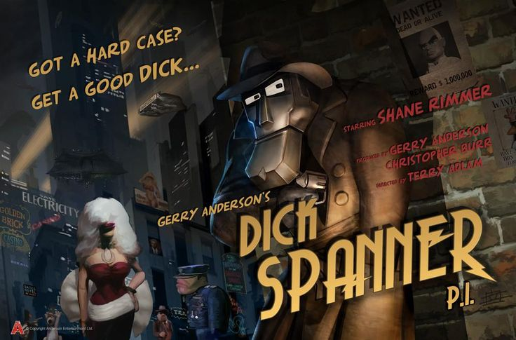 Dick Spanner Poster designed by Eric Chu from The Gerry Anderson Store