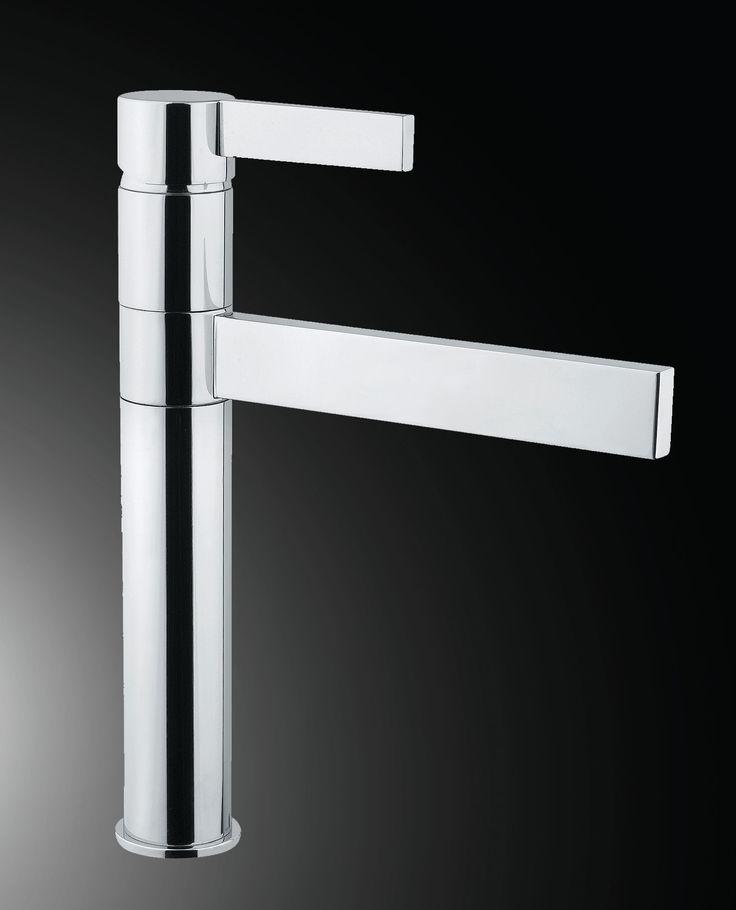 Caso Single lever kitchen mixer Soft Touch Handle surface. Armando Vicario By Hafele