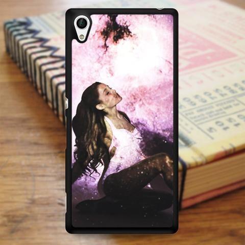 Ariana Grande Galaxy Photoshoot Sony Experia Z4 Case
