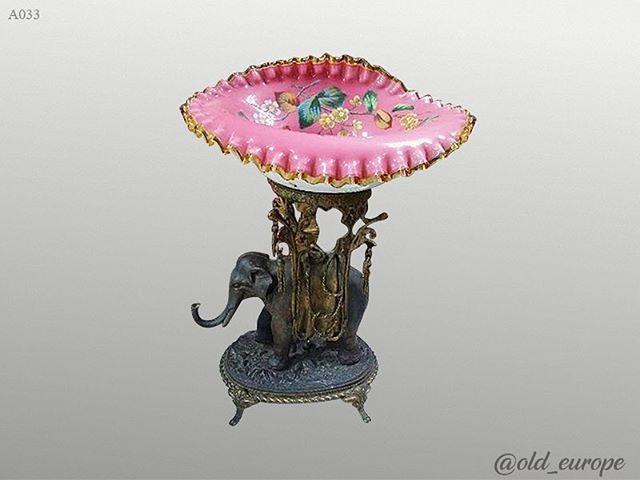 Элегантная ваза/центр стола! Бронза, опалина. Отличное состояние! Размеры: 48×33 см. #ваза #подарокбоссу #подарки #подарок #бронза #антик #антиквариат #барахолканапервом #900
