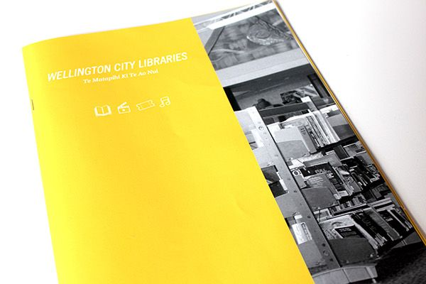 Wellington City Libraries Suggestion System on Behance