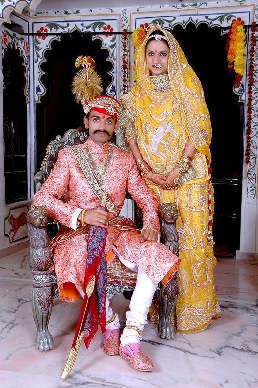 Traditional #RAJPUT couple Rajdeep Art Studio Udaipur |
