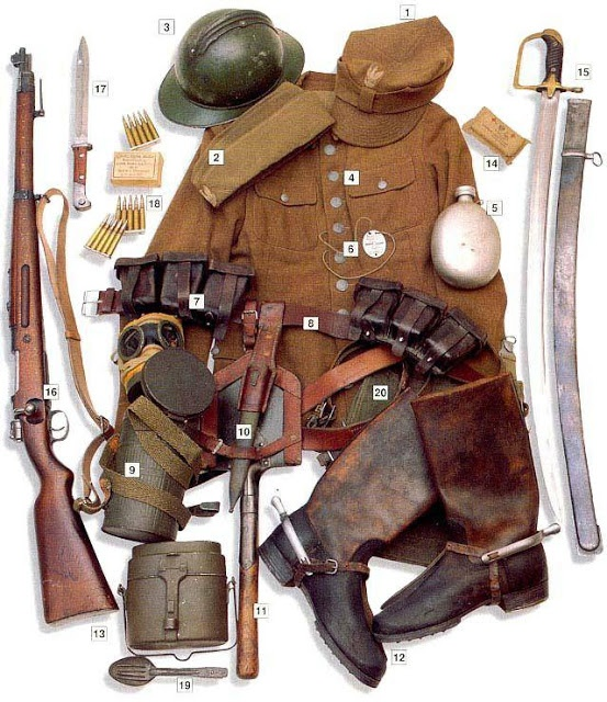 WW 2 Military Uniform of Polish Uhlan 1939