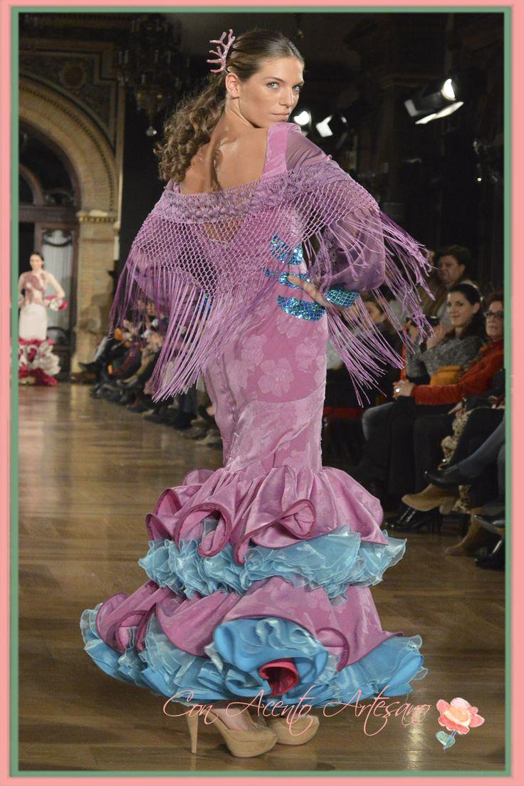 Vestido flamenca de Leticia Dominguez We Love Flamenco 2015
