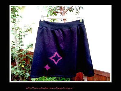 Mis costurikas y más: Falda Riska