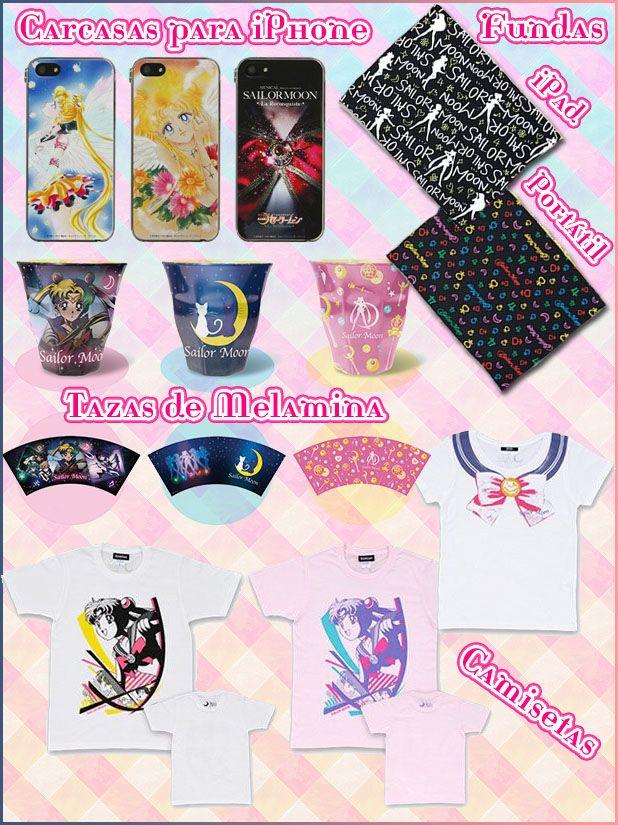 """Merchandising del Sera Myu """"La Reconquista"""" - Sailor Moon España"""