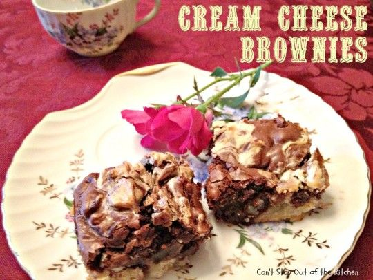 ... Holiday Recipes | Pinterest | Cream Cheese Brownies, Brownies and