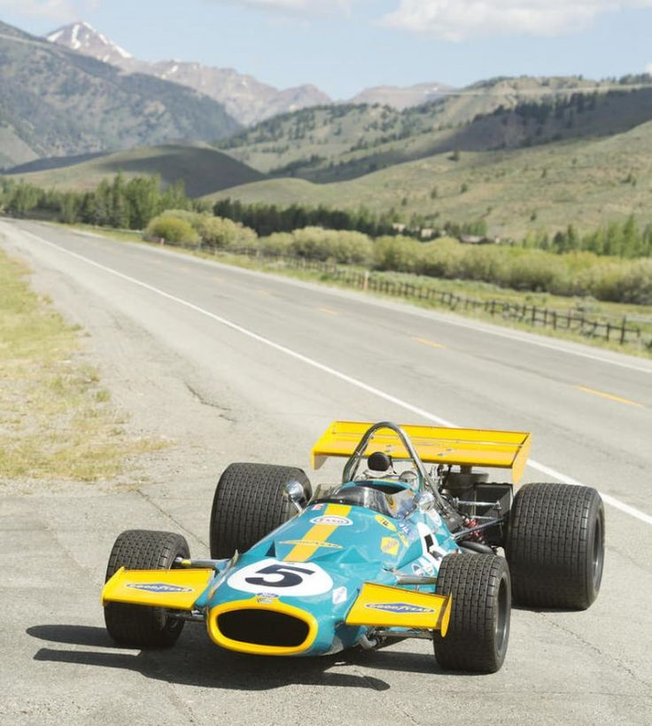 Vintage Formula 1 Car 12 740x824 1970 Brabham Cosworth Formula 1 Car