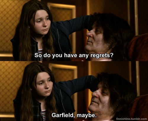 Favorite line from Zombieland. I died of laughter.