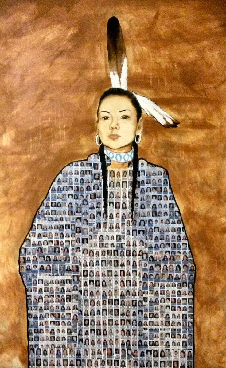 "Missing and murdered Indigenous women. ""Still Dancing"" by @Jonlabillois #ArtForAmnesty"