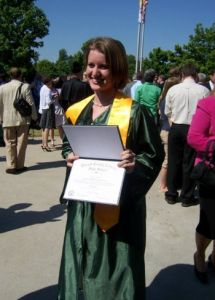 Molly Hatch posted this blog about her graduation from college. Congrats Molly!