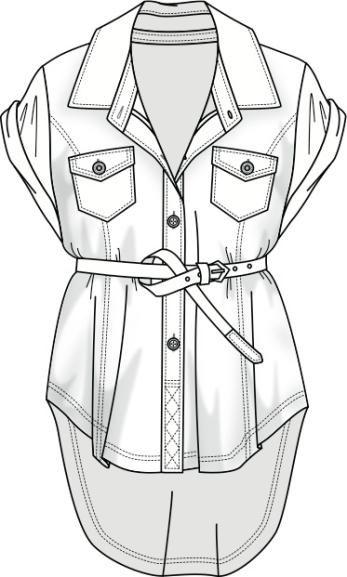 Line drawing http://www.sewingavenue.com