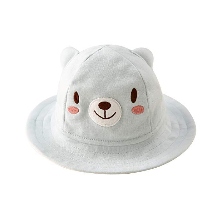 b54b34d3112 Baby Sun Hat Animal Bucket Hat with Wide Brim for Boys   Girls Autumn Summer  Review