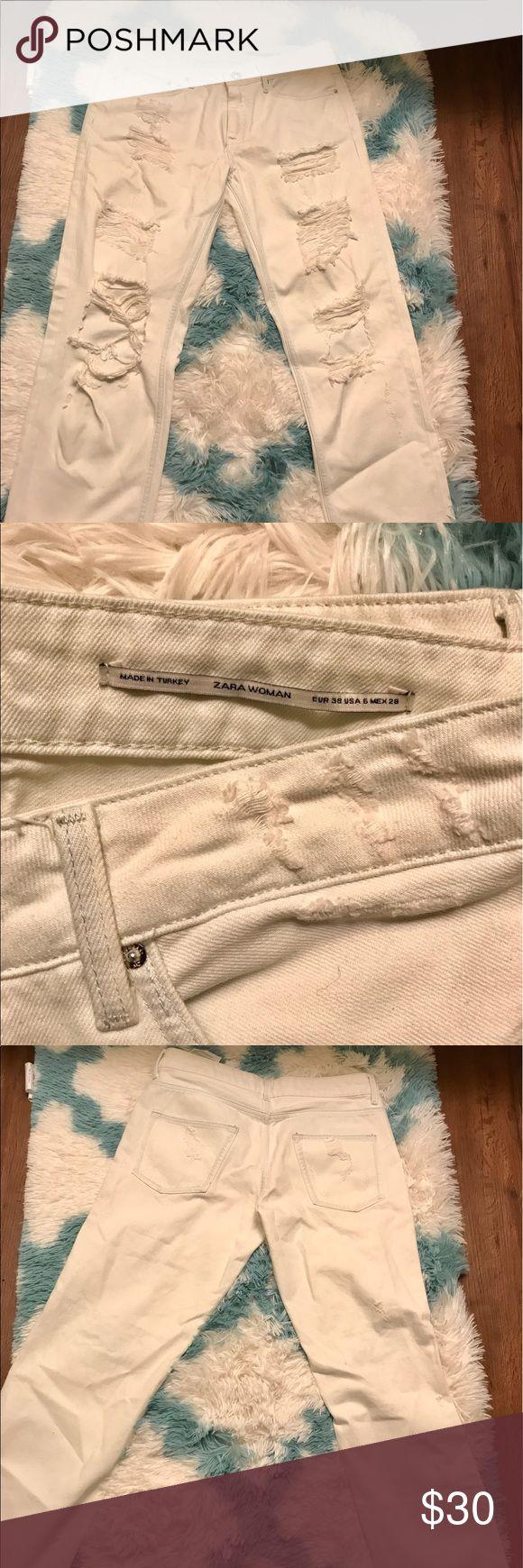 Pre-owned Zara jeans Pre-owned Zara boyfriend jeans. Zara Jeans Boyfriend