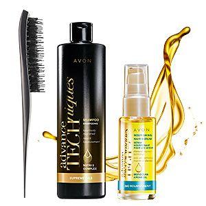 Advance Techniques In-Shower Hair Massaging Brush