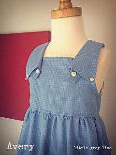 Little Grey Line www.littlegreyline.com Custom dresses made from repurposed button-down dress shirts.