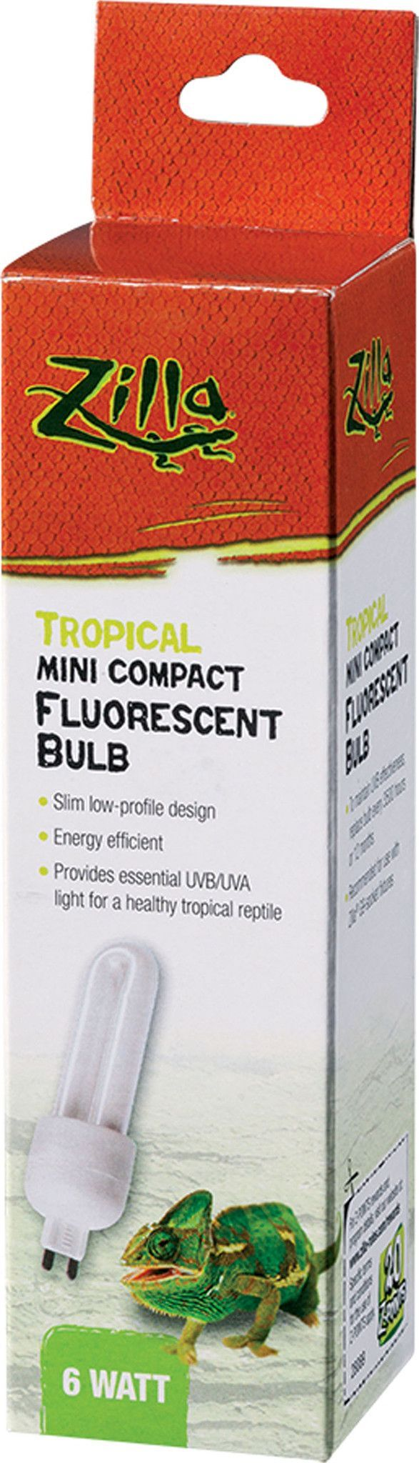 Mini Compact Fluorescent Bulb - Tropical