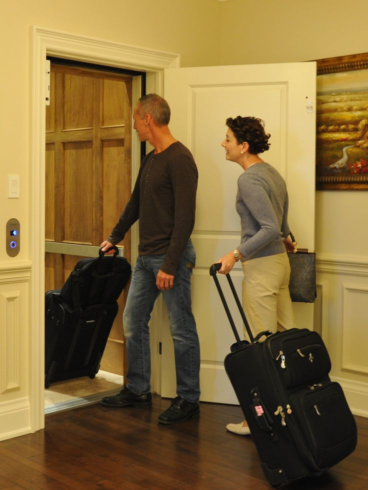 Are you doing a lot of travelling, for business or pleasure? Up and down the stairs with your luggage can be a little dangerous. There is a lot less pain involved while moving luggage around your home, when you have an elevator!
