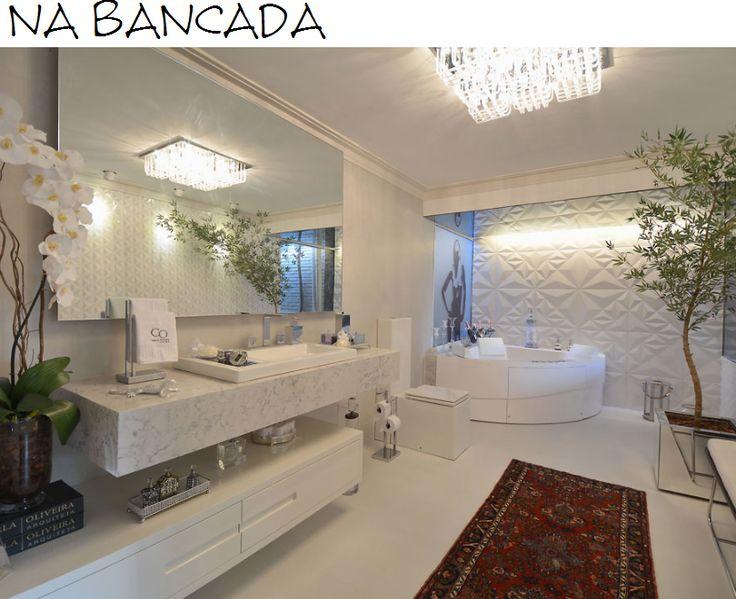 Banheiros Modernos Assim Eu Gosto : Melhores ideias sobre m?rmore carrara no