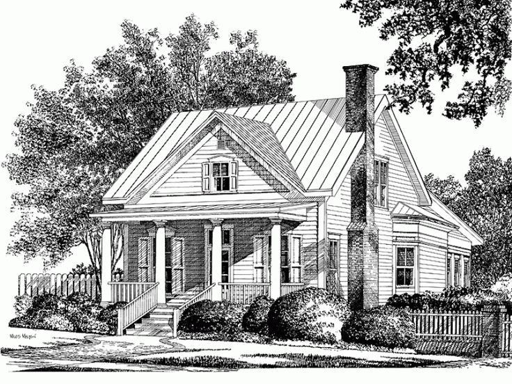 Small colonial home plans for Modern colonial house plans