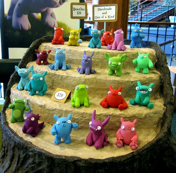 polymer clay monsters - Google Search