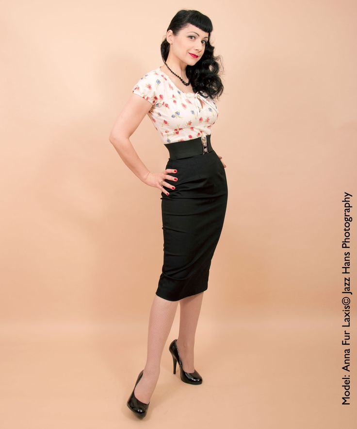 Wiggle Pencil Skirt From Vivien Of Holloway 1950s Dresses From Vivien Of Holloway Photoshoot