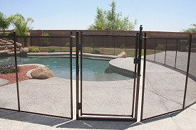 Pool Guard understands the urgent necessity of keeping children safe around the pool.