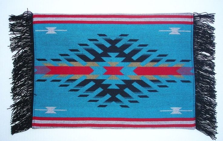 Western/Southwestern Tabletop Decor Southwestern Design Placemats Set of 4 #Southwestern
