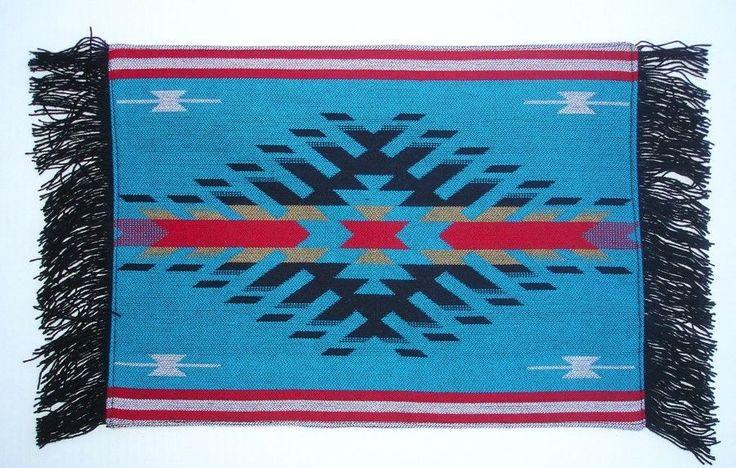 Western/Southwestern Tabletop Decor Southwestern Design Placemats Set of 4 #Southwestern