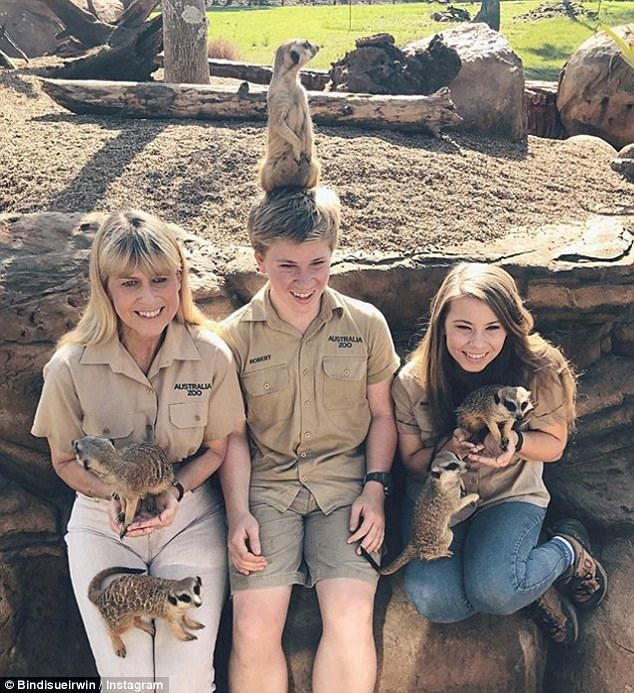 Keeping the dream alive! The Irwin family has maintained a high-profile in Australia since the death of iconic husband and father Steve Irwin in 2006