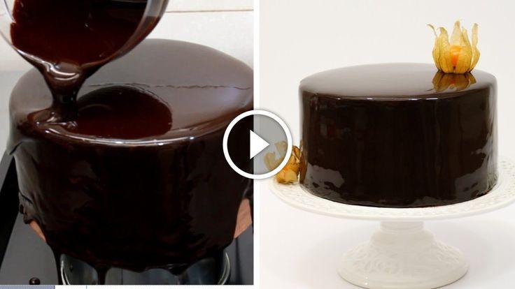 čokoláda se leskne jako zrcadlo