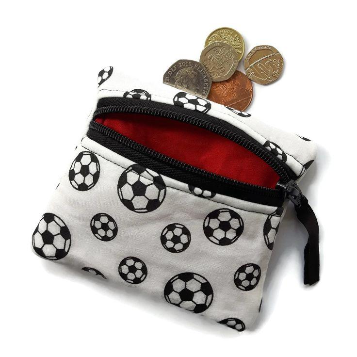 Football coin purse