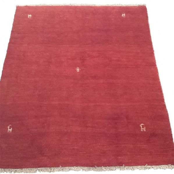 Gabbeh Red Rug