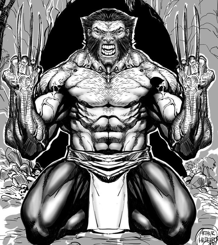 """Mi piace"": 63, commenti: 2 - Arthur Medeiros (@arthurmedeiros) su Instagram: ""#sketchbookpro#funwithipad #wolverine #dibujando #comics…"""