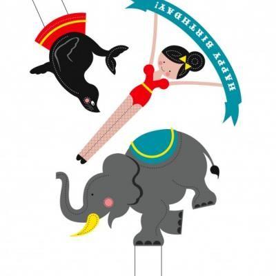 Circus theme party printables