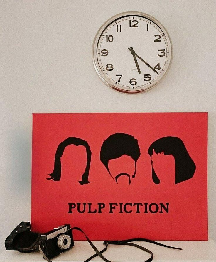 Vászonkép! Ponyvaregény! Canvas pictur! Pulp Fiction!
