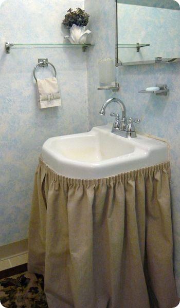 Luna Single Sink Skirt