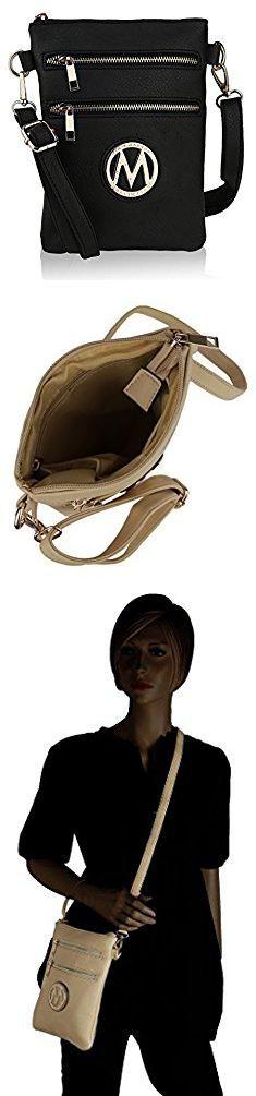 Cheap Mk Bags. MKF Collection Woman's Handbag Pocketbook, Crossbody Shoulder Messenger Purse, Multi Zipper.  #cheap #mk #bags #cheapmk #mkbags