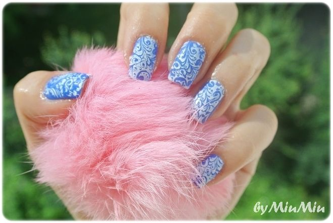 Nails: Blue Fantasy | MiuMiu