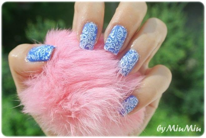Nails: Blue Fantasy | MiuMiu