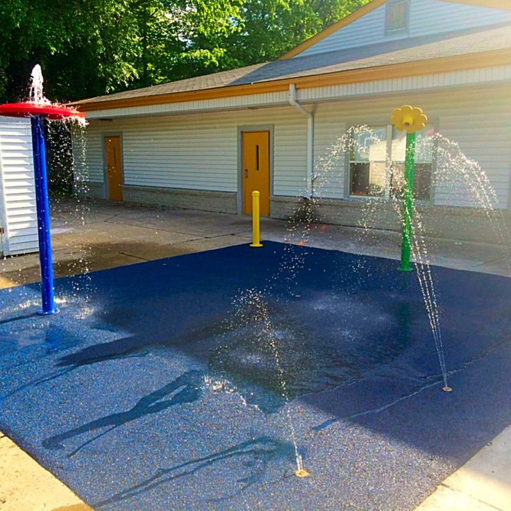 Attirant Splash Pad Installation, Kits U0026 Water Playground Equipment