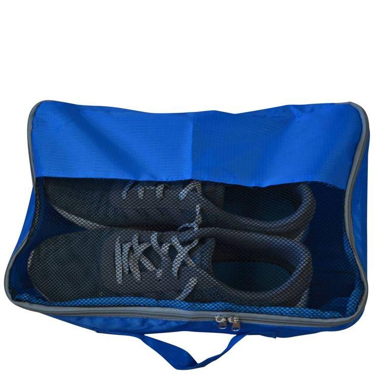 ProWorld Opbergzak voor schoenen Blauw  Deze handige opbergzak voor uw schoenen zorgt ervoor dat uw kleding niet vies wordt in de koffer. Zo hoeft u hier tijdens het inpakken geen rekening meer mee te houden.  EUR 3.95  Meer informatie  #vakantie http://vakantienaar.eu - http://facebook.com/vakantienaar.eu - https://start.me/p/VRobeo/vakantie-pagina