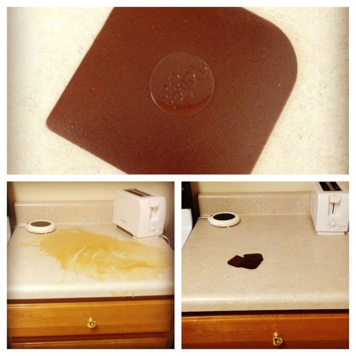 ... BEST way to get that dried wax up off your countertops and/or floor