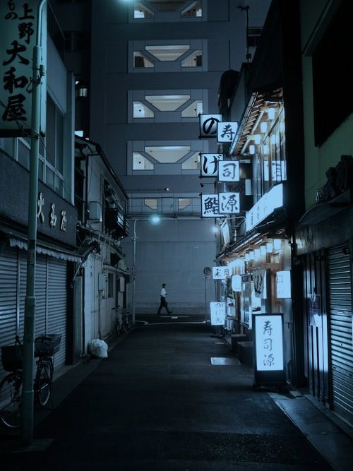 neuromaencer:  Alley at Ueno