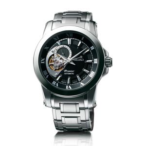 Seiko Premier for Men Automatic with24-hour Indicator 4R39 SSA215J1