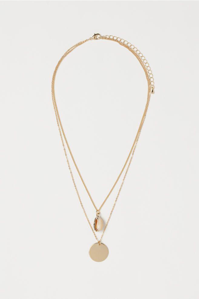 Vintage Snap Bijoux Bouton Collier Doré Coeur Collier Pendentif fit for Women
