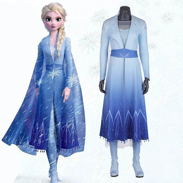 Frozen Inspired ELSA PRETTY PRINCESS Costume Reproduction Made For American Gir