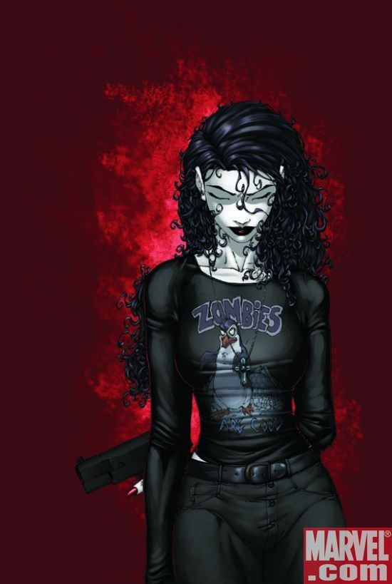 anita blake... yeah she may like constantly be in danger but i kinda really wanna be her