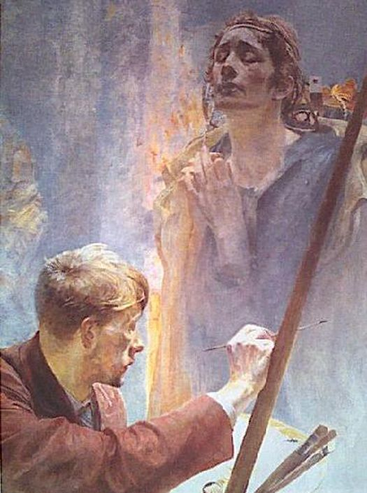 Jacek Malczewski - Artist and Muse.