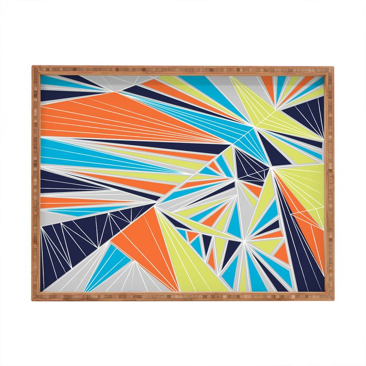 Vy La Tech It Out Retro Rectangular Tray | DENY Designs Home Accessories